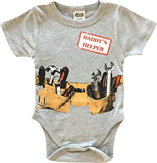 Daddy's Little Helper Bodysuit, Funny Baby Onsies, Gifts for New Dad!