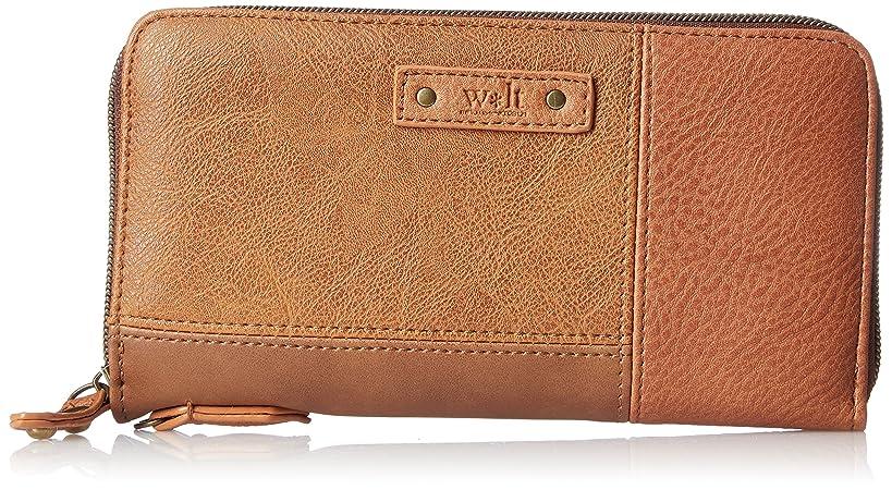 夕暮れコード近代化する[ウォルト] 長財布 合皮 パッチワーク ウォレット
