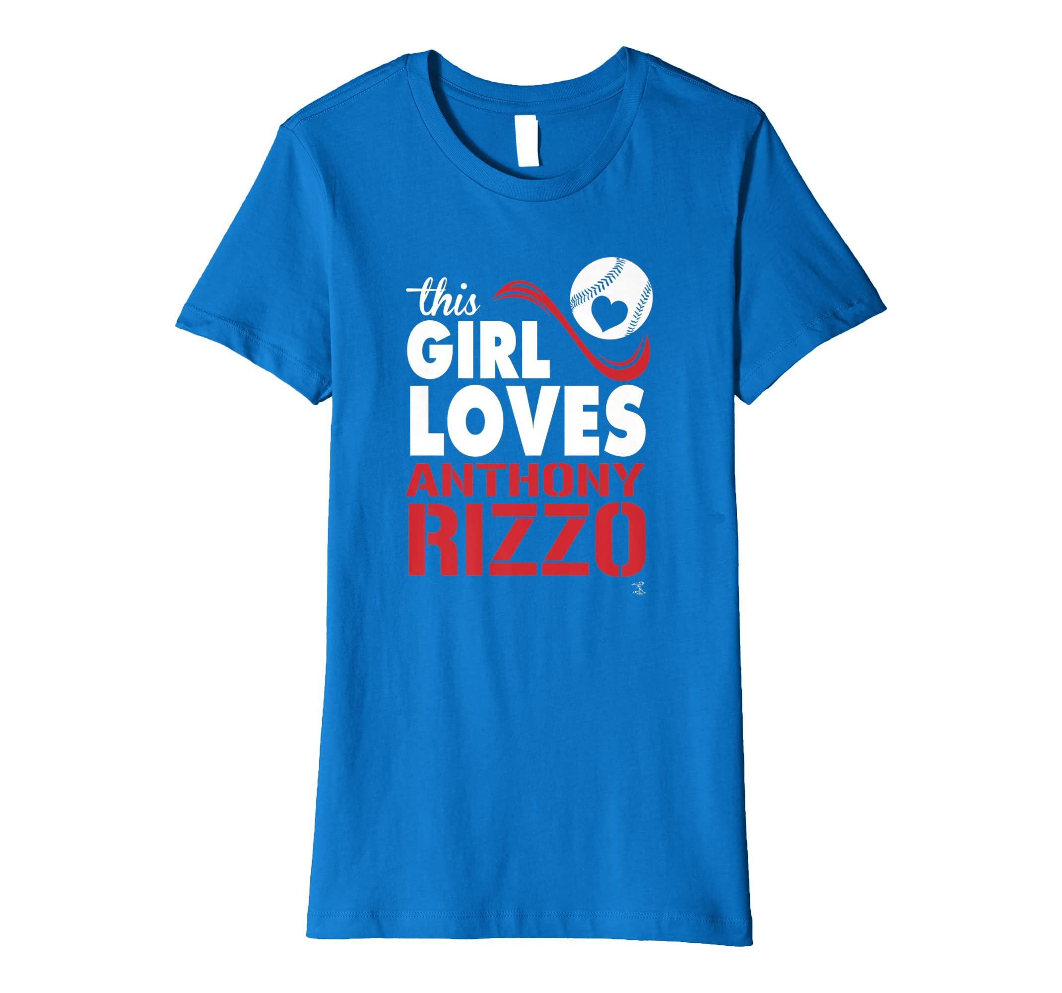 reputable site 3e34a 112a6 Anthony Rizzo This Girl Loves T-Shirt - Apparel