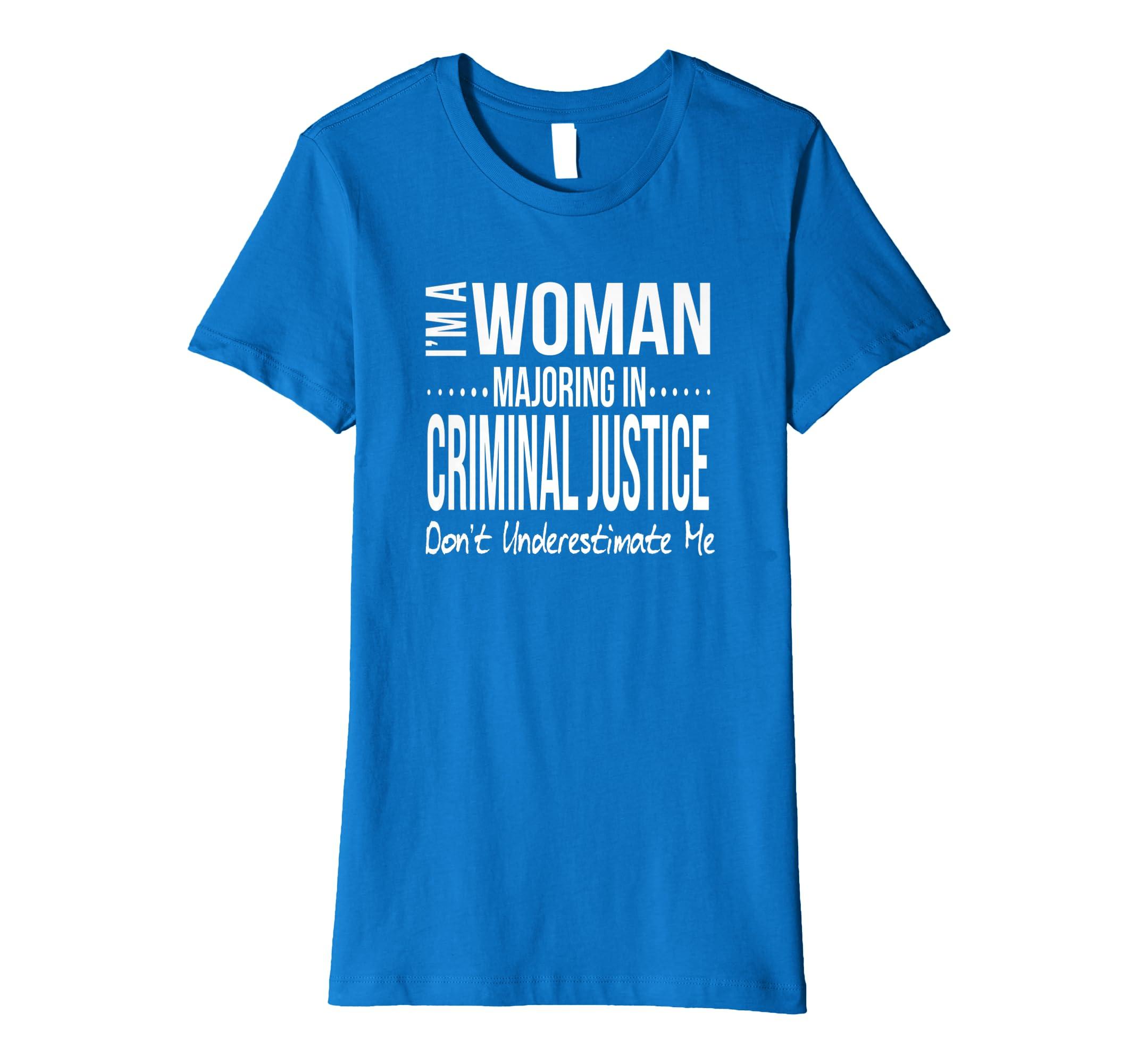 Amazon Criminal Justice Major Gift Women Unique Christmas Birthday Clothing