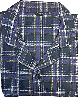 KENTEX Men's Traditional Warm Flannel Pyjama Set Thermal 100% Cotton napped Flannelette M L XL XXL 3XL 4XL 5XL