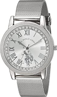 Women's Analog-Quartz Watch with Alloy Strap, Silver, 18...