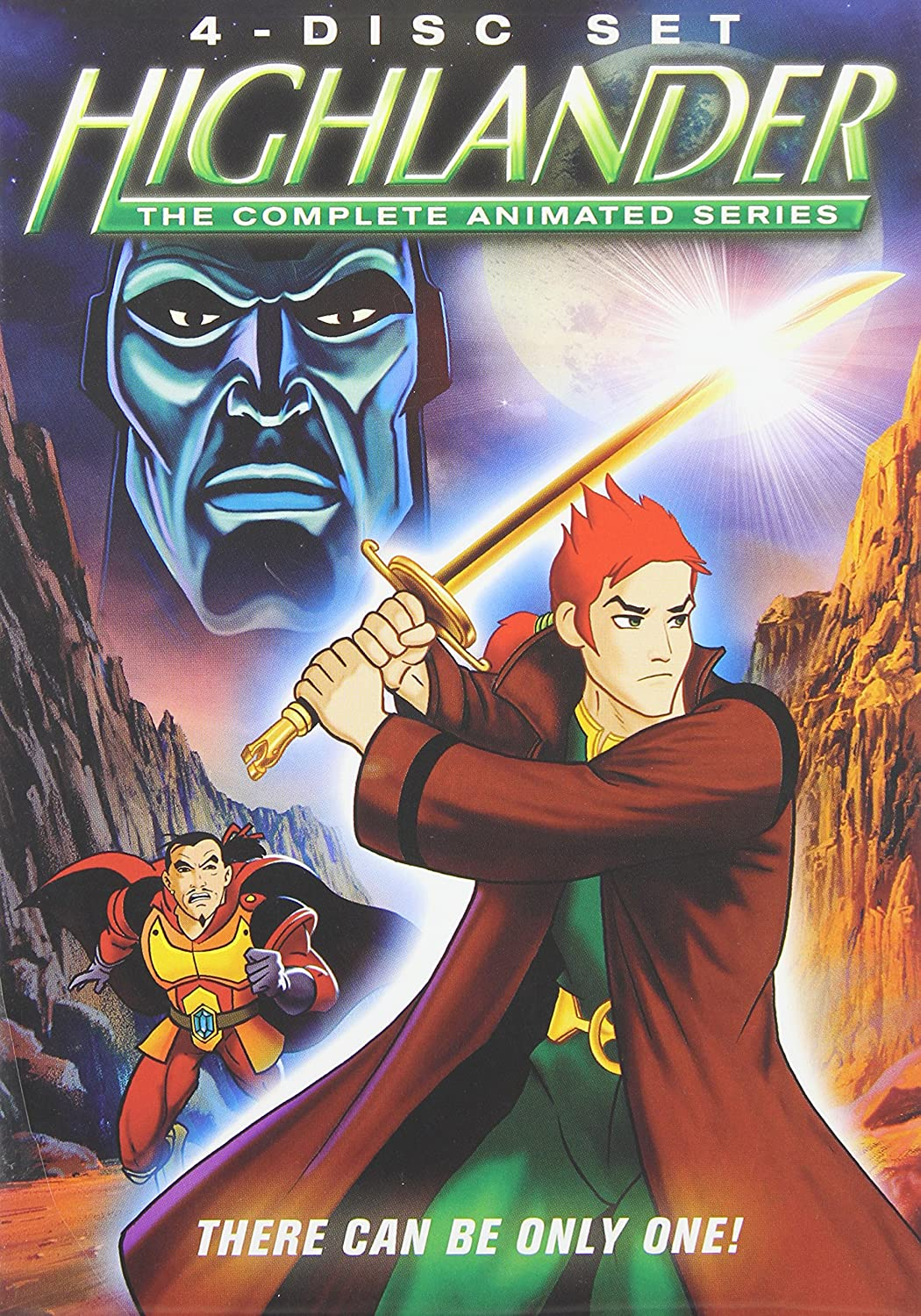 Highlander: The Cheap super special price Complete Animated San Diego Mall Series