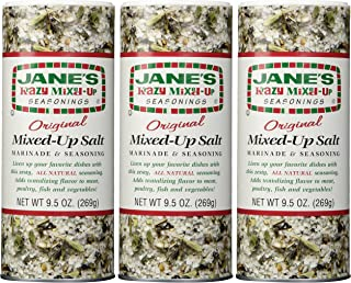 Jane's Krazy Mixed-Up Original Salt Blend 9.5 oz (Pack of 3)