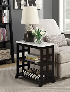 Convenience Concepts American Heritage Baldwin Chairside Table, Black