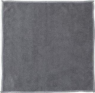 マーナ(MARNA) 汚れからめ取りクロス 掃除の達人 水垢 手垢 油汚れ マイクロファイバー 蛇口 雑巾 W646GY グレー 30×30cm