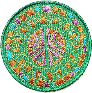 Peace Anti No War Thailand Flag Sign Logo Hippie Retro Biker Tatoo Jacket T-shirt Vest Patch Sew Iron on Embroidered Badge Symbol Custom