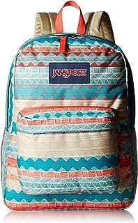 JanSport Unisex Superbreak Malt Tan Boho Stripe One Size