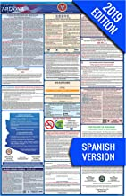 2019 Arizona (Spanish) Labor Law Poster – State, Federal, OSHA Compliant – Single Laminated Poster