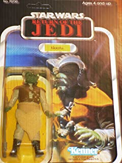 Vintage Star Wars 1983 Return of the Jedi Klaatu in Skiff Guard Outfit 77-Back