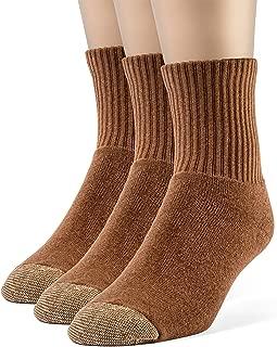 Best mens brown quarter socks Reviews
