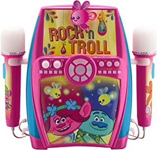 Trolls Deluxe Sing Along Boombox with Dual Microphones