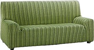 comprar comparacion Martina Home Mejico - Funda de sofá elástica, Verde, 3 Plazas, 180 a 240 cm de ancho
