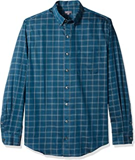 Men's Big and Tall Wrinkle Free Long Sleeve Button Down...