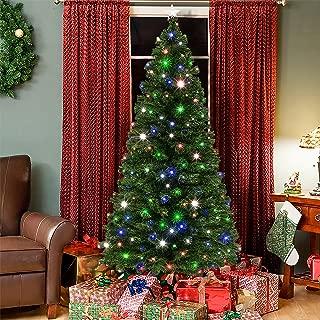 Christmas Tree With Fiber Optic Needles