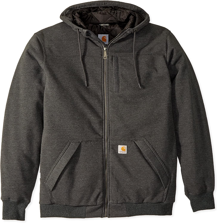 Carhartt Men's Big & Tall Rd Rockland Sherpa Lined Hooded Sweatshirt