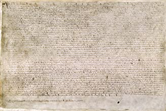Home Comforts The Magna Carta Poster Great Historical Documents Vivid Imagery Laminated Poster Print 11 x 17