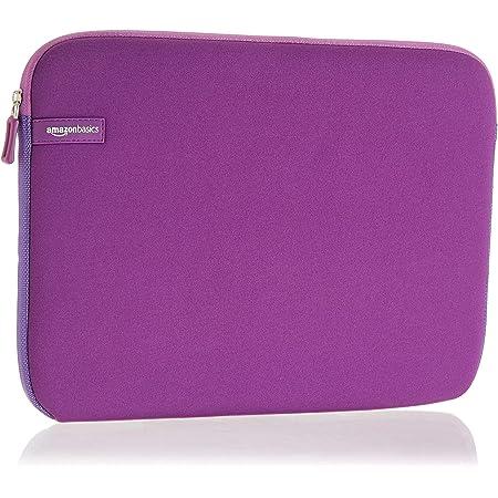 """Amazon Basics NC1506164G - Funda para ordenadores portátiles (13.3""""), color púrpura"""
