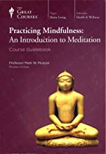 The Great Courses Practicing Mindfulness: An Introduction to Meditation Book and DVD Set