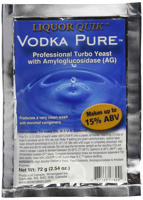 Liquor Ranking TOP7 Quik Import Vodka Pure Professional Turbo Yeast