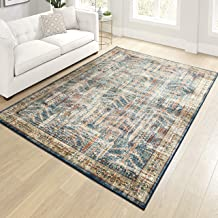 "product image for Orian Meadow Safavid Area Rug, 7'10"" x 10'10"", Blue"