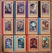 Series of Unfortunate Events Set of 12 Books (Volumes 2 - 13) (Reptile Room ~ Wide Window ~ Miserable Mill ~ Austere Academy ~ Ersatz Elevator ~ Vile Village ~ Hostile Hospital ~ Carnivorous Carnival ~ Slippery Slope ~ Grim Grotto ~ Penultimate Peril ~ The End)