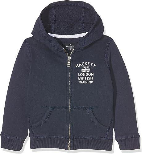 Hackett London Hkt Hoody Fz Sweat-Shirt Garçon