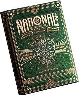 theory11 National Playing Cards (Green), Poker