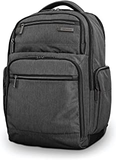 Samsonite Modern Utility Double Shot Laptop Backpack, Charcoal Heather, One Size