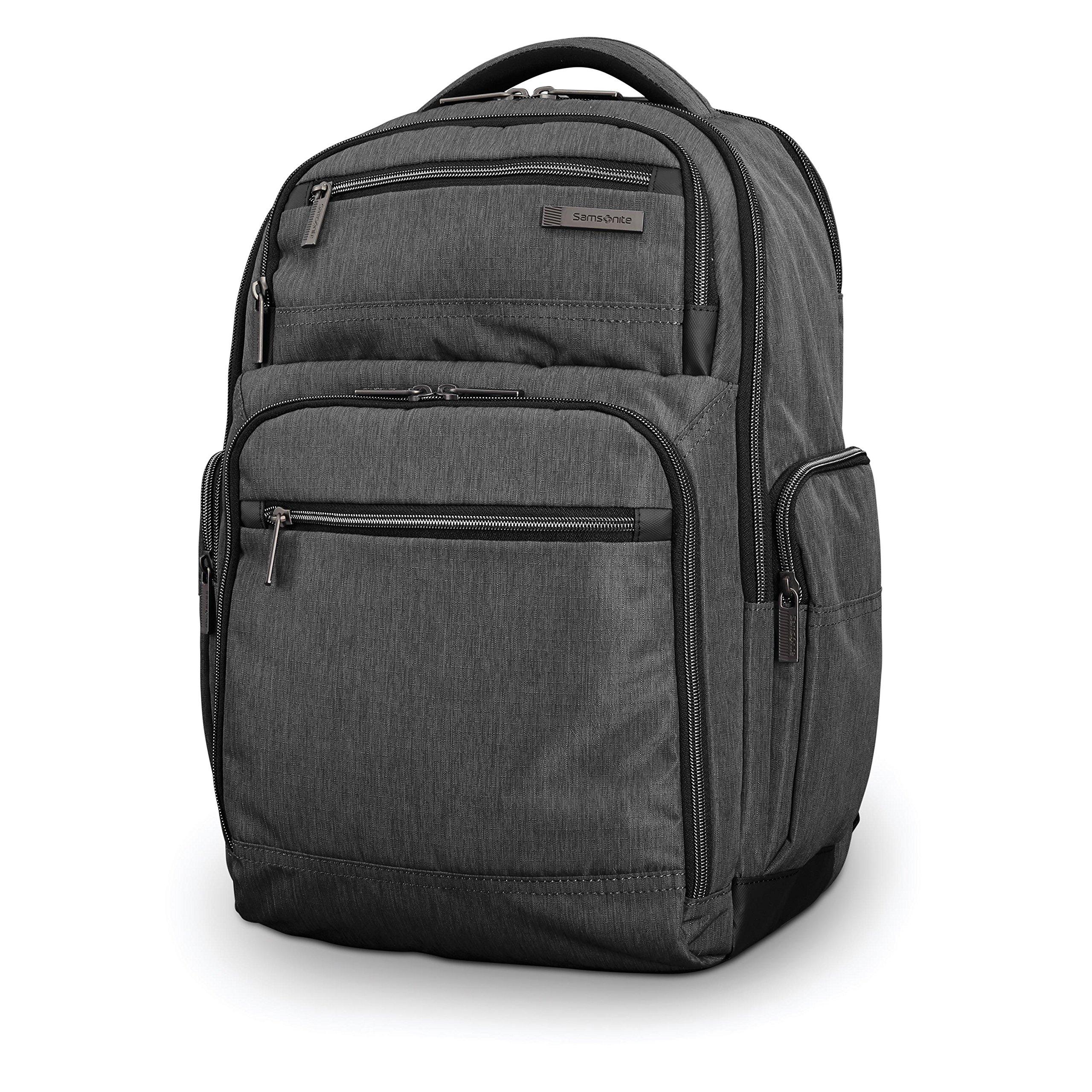 Samsonite 新秀丽 现代多功能双击笔记本电脑背包