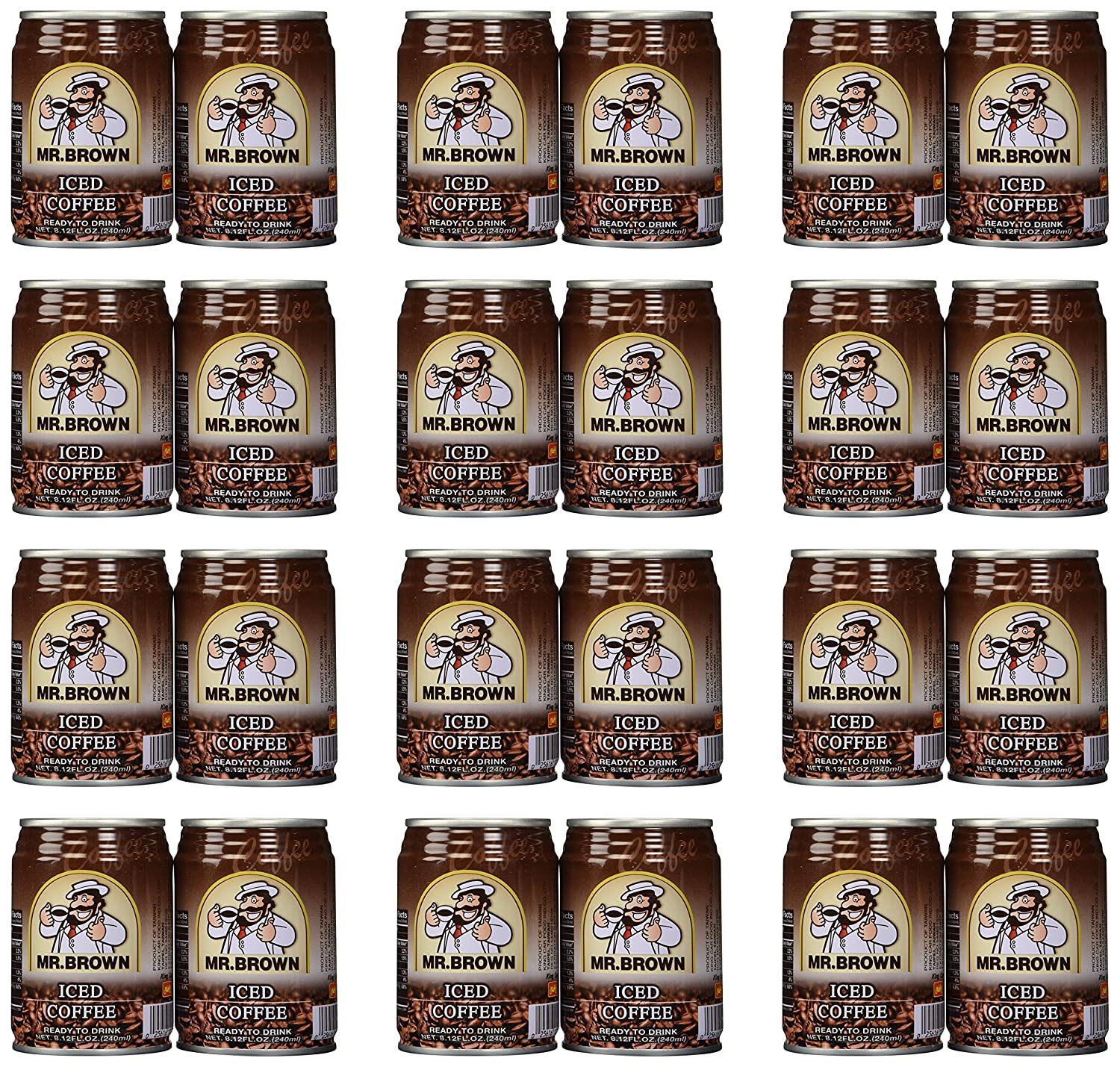 Mr. Brown Iced Coffee 8.12-Ounce Pack New Free Shipping of Max 77% OFF 24