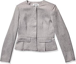 Women's Twill Peplum Jacket
