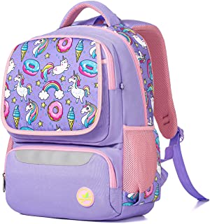 Girls Backpack for School, Children Casual Daypack Book Bag Rucksack (Unicorn Kitty)