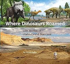 أين الديناصورات roamed: تي شيرت Lost Worlds يوتا Grand سلالم