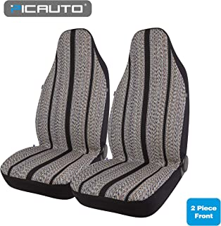 PIC AUTO Baja Blanket Bucket Seat Cover for Car, Truck, Van, SUV - Airbag Compatible (2PCS)