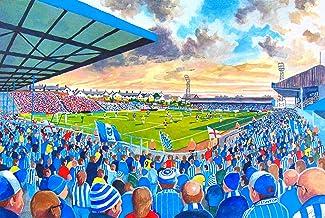 Goldstone Suelo Estadio A4Fine Art Print–Brighton y Hove Albion FC
