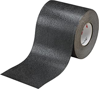 3M Safety-Walk Slip-Resistant Conformable Tapes & Treads 510, Black, 4 in x 60 ft, Roll