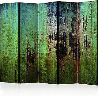 murando Biombo 225x172 cm de Impresion Unilateral en el Lienzo de TNT de Calidad Decoracion Foto Biombo de Madera con Imagen Impresa Separador Grande Home Office Concreto Hormigon f-B-0093-z-c