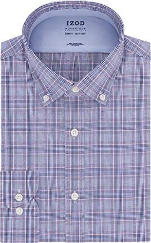Izod Chemise pour Homme Coupe Slim Stretch Cool FX Check