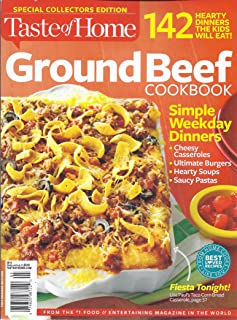 Taste of Home Ground Beef Cookbook (Special Collectors Edition)