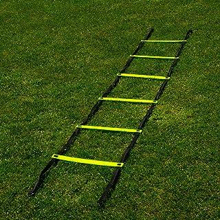 FORZA Escalera de Velocidad para Entrenamientos de Fútbol – Entrenar Coordinación y Agilidad (3m o 6m)