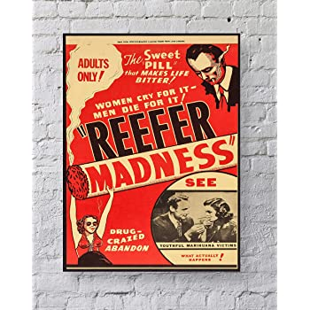 Premium Poster Paper Reefer MadnessLARGE 24X36 MOVIE POSTER
