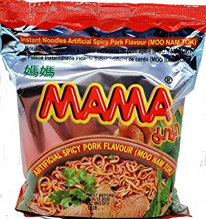 Best MAMA Ramen Style Instant Oriental Noodles Spicy Pork Flavor 10 Pack Review