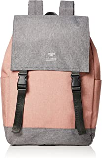 Anello AT-H1151 Backpack High-density Mottled poly-flap backpack Poly-Flap Backpack [NUDE PINK/GRAY]