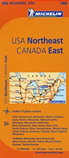 Best map of northeast canada Reviews
