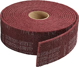 Scotch-Brite(TM) Clean And Finish Roll, Aluminum Oxide, 30' Length x 4 Width, Very Fine Grit (Pack of 3)
