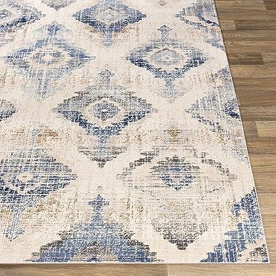 "Artistic Weavers Teresia Area Rug, 3'11"" x 5'7"", Denim"