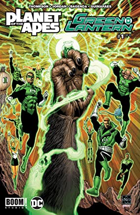 Planet of the Apes/Green Lantern #1 (of 6) (English Edition)