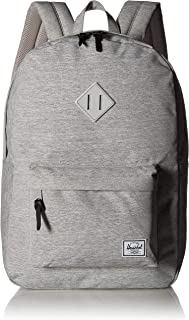 Herschel 10007-02041-Os Heritage Unisex Casual Daypacks Backpack - Light Grey Crosshatch
