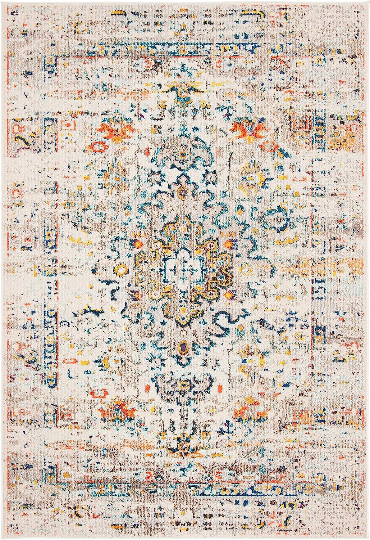 Safavieh Madison Collection MAD474B Medallion Soldering Colorado Springs Mall Distressed Boho No